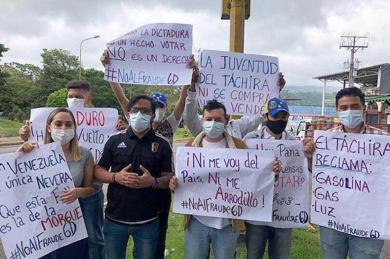 En el Táchira protestaron por el caos de los servicios públicos 1