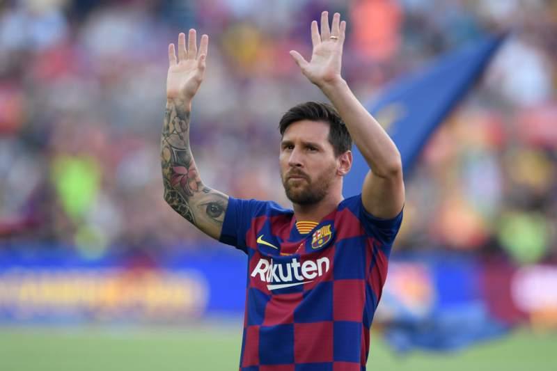 Lionel Messi se queda en el Barcelona 34