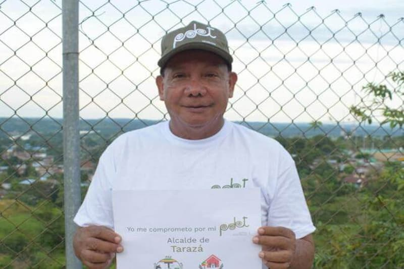 Miguel Ángel Gómez Alcalde de Tarazá, en cuidados intensivos por COVID-19 2