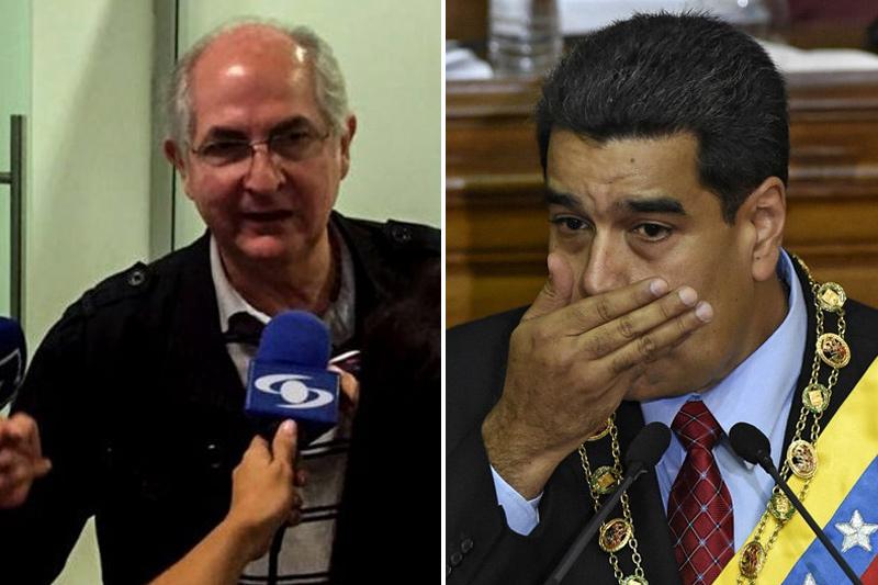 """Antonio Ledezma a Maduro: """"No te salvan ni alacranes ni colaboracionistas"""" (tweet) 1"""