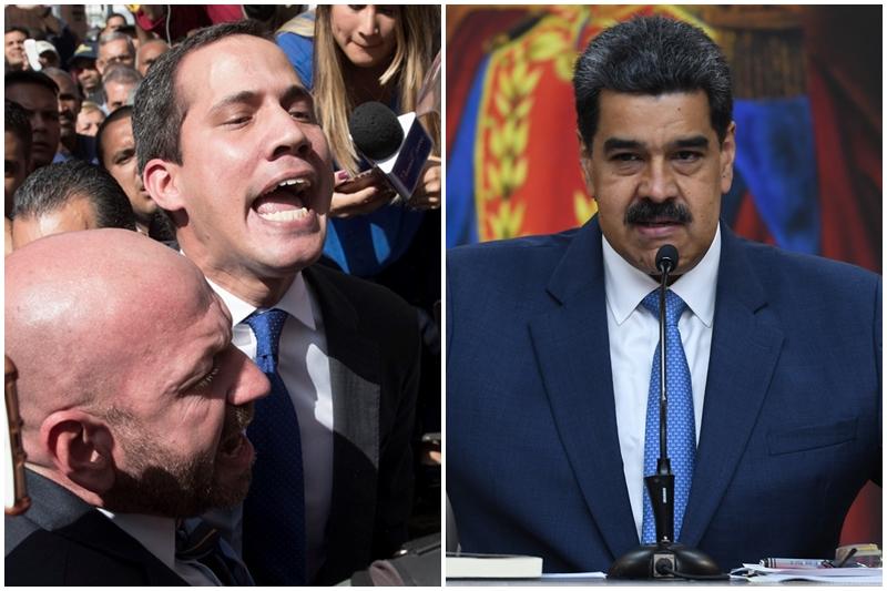 Maduro amenaza con enjuiciar y encarcelar a Juan Guaidó en el 2021 13