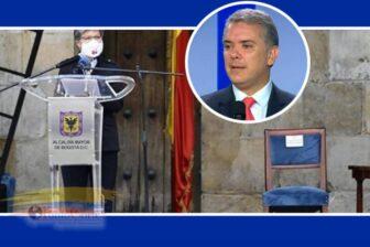 Polémica en Colombia por la silla vacía del Presidente Duque en acto de perdón 1