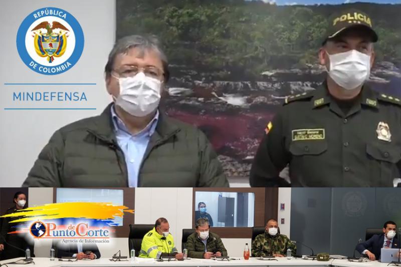 Ministro de Defensa reportó 5 muertos por disturbios en Bogotá 15