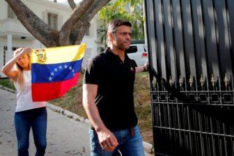 Leopoldo López abandonó la embajada de España hacia Colombia 1