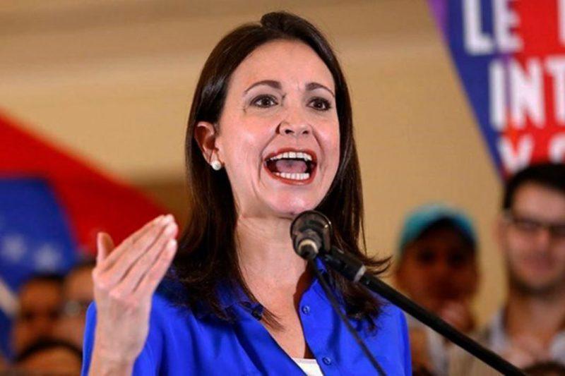 La respuesta de María Corina Machado cuando le preguntan si estaría dispuesta a formar parte del gobierno interino (Video) 38