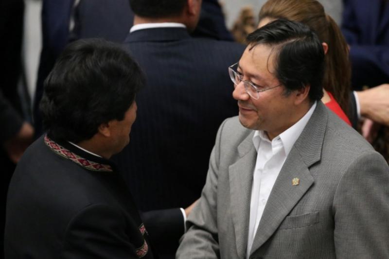 Al candidato de Evo Morales se le chispoteó que hubo fraude en Bolivia 4