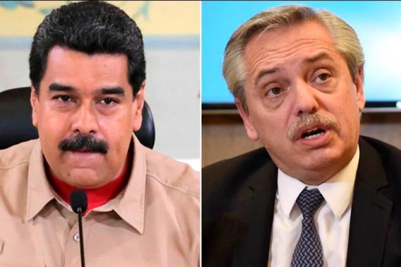 Alberto Fernández se distancia de Maduro 11