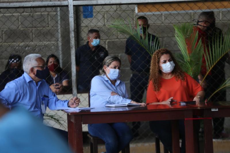 Candidata Iris Varela participó en un acto oficial con reclusos en Guárico 1
