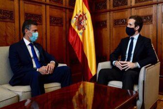 Lo que dijo Leopoldo López tras su encuentro con Pablo Casado en Madrid 1