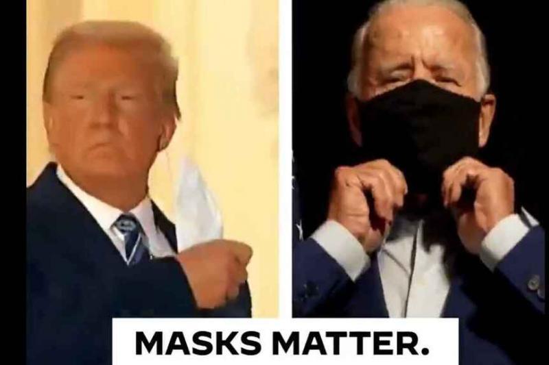 """Joe Biden a Donald Trump: """"Las máscaras importan"""" 1"""