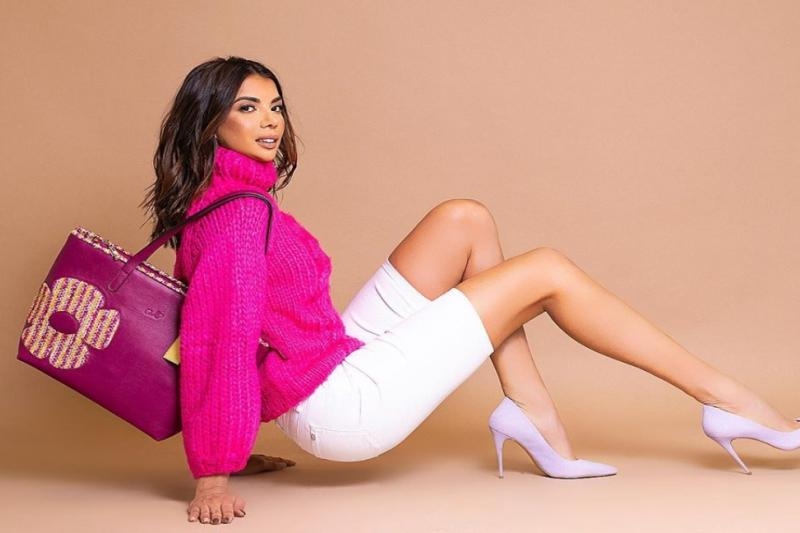 Modelo venezolana Faddya Halabi causa sensación en EE.UU 1