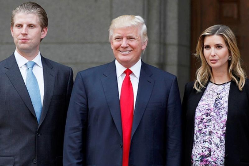 Hijos de Donald Trump muestran felicidad ante la llegada de su padre a la Casa Blanca 4