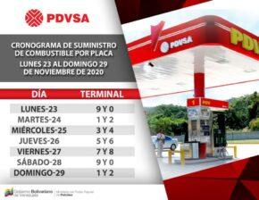 """Así será el cronograma """"pico y placa"""" para surtir gasolina durante esta semana radical de cuarentena por el COVID-19 2"""