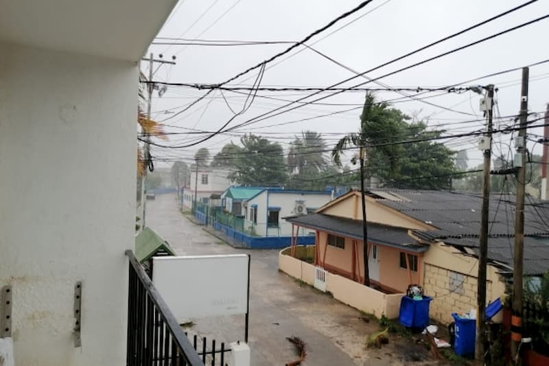 La imágenes de la devastación que el huracán Iota causa en San Andrés y Providencia 1