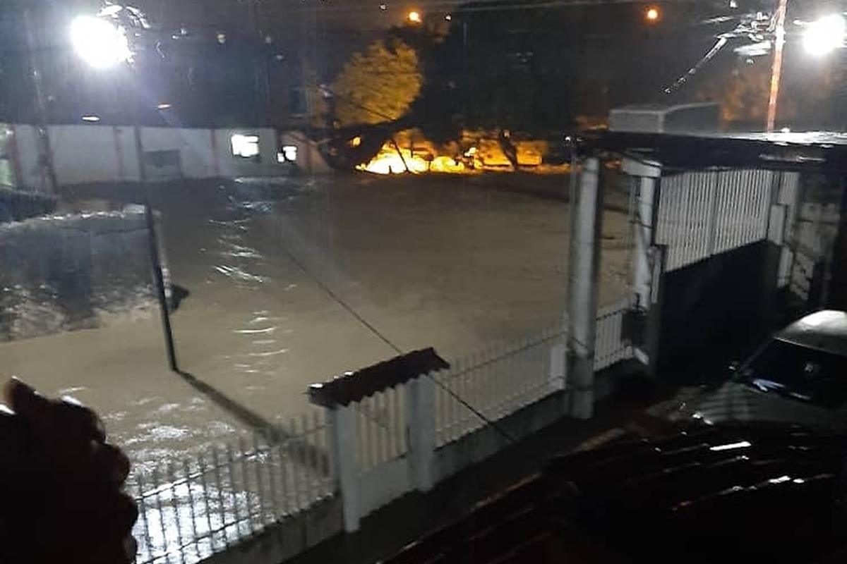Las impresionantes imágenes que dejaron las fuertes lluvias en Táchira 2