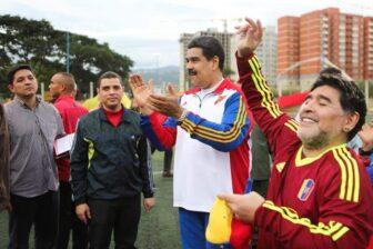 Siempre estarás en mi corazón: Maduro se despide de su amigo Maradona 1