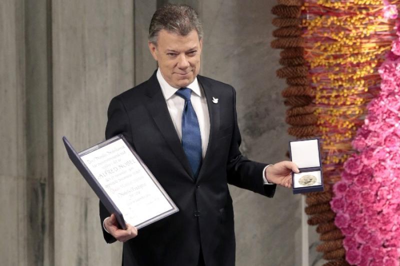 Juan Manuel Santos entre los seis premios Nobel cuestionados según el NYT 1