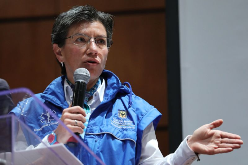 """Alcaldesa de Bogotá afirmó que en Venezuela hay """"una dictadura"""" y defendió a migrantes (Video) 29"""