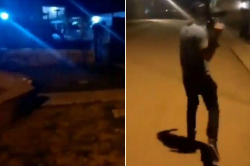 Delincuentes atacaron residencia de comerciante en Zulia con metralletas y granadas 5