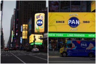 """""""Dominio total del mundo"""": El aviso de la Harina PAN en Nueva York que causó furor en las redes (Video) 1"""