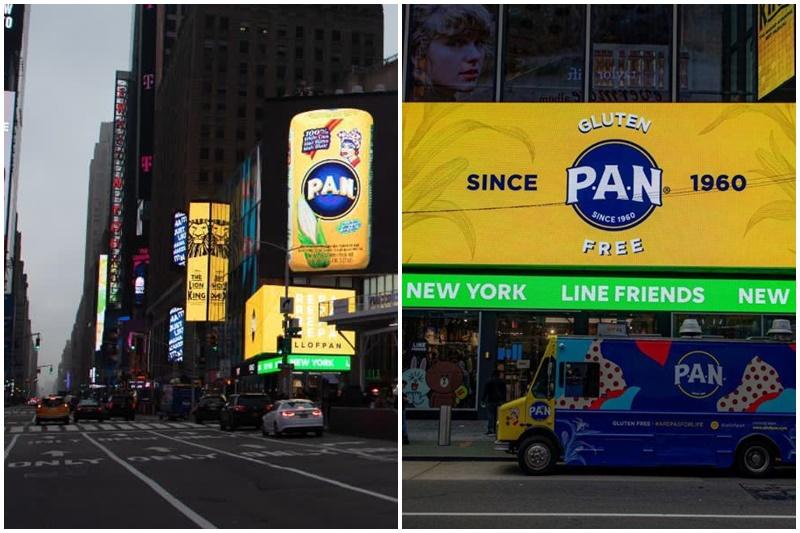 """""""Dominio total del mundo"""": El aviso de la Harina PAN en Nueva York que causó furor en las redes (Video) 32"""