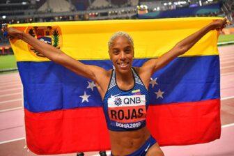Yulimar Rojas se corona como la mejor Atleta del Año del Mundo y es la primera venezolana en lograrlo (Twitter) 1