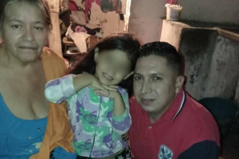 Liberaron a la niña Antonella Maldonado después de estar dos semanas secuestrada: sus captores la habrían abandonado 1