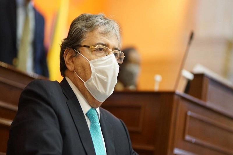 Muere el ministro de Defensa de Colombia, Carlos Holmes Trujillo: estuvo varios días en estado crítico por el COVID-19 1