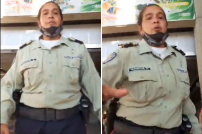 Bajan y agreden a ciudadana del ferrocarril de los Valles del Tuy por usar vestido (Video) 1