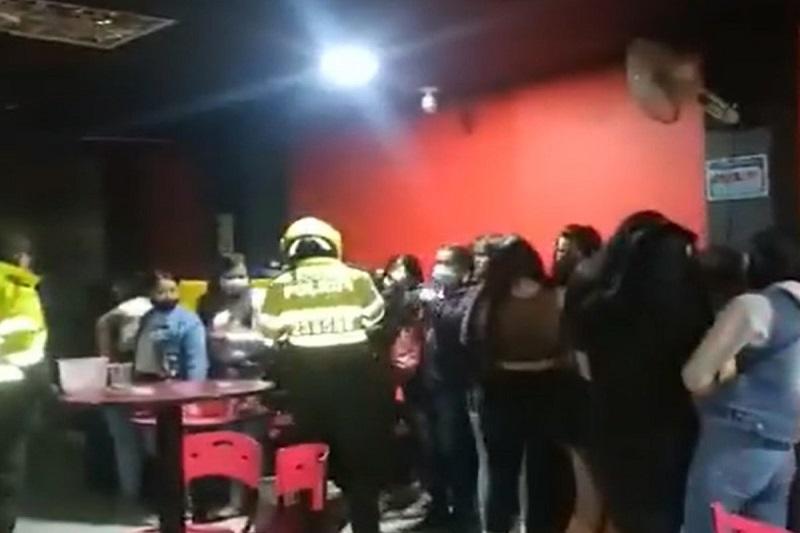 Venezolanos detenidos en fiesta clandestina en Bogotá podrían ser deportados 1