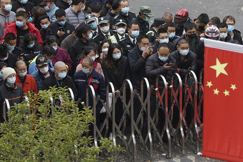 China intenta erradicar un brote de Covid-19 en una ciudad de 11 millones de habitantes 1