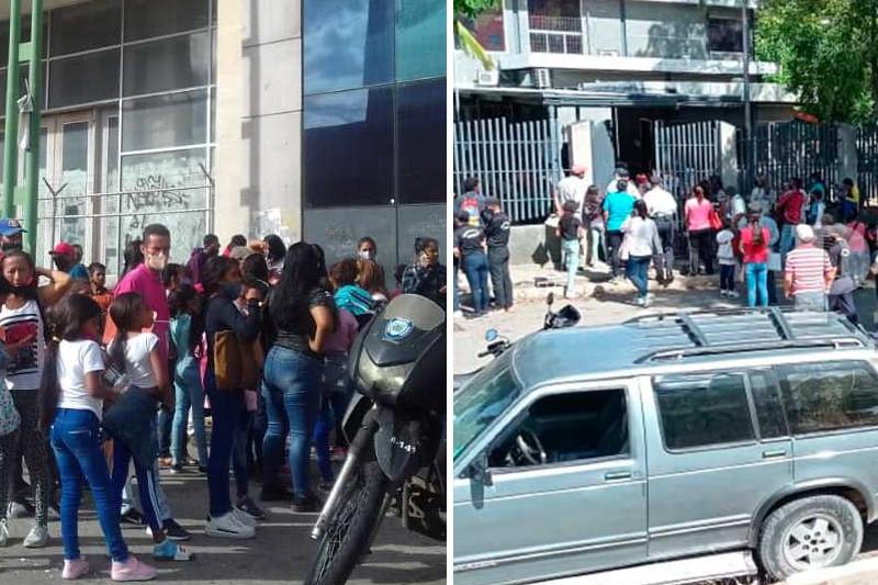 Abarrotadas se encuentran las oficinas del Saime en el interior del país por la jornada de cedulación (Video) 26