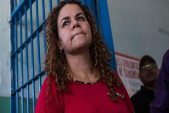 Iris Varela golpeó a periodista durante programa de televisión (Video) 1