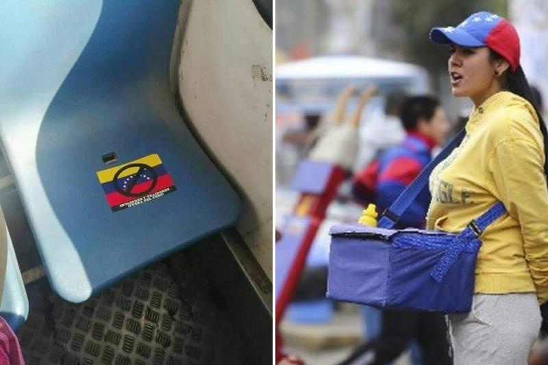 """""""Invasores y traidores"""": el indignante mensaje en contra de los venezolanos que hallaron en una unidad de transporte público de Perú 12"""