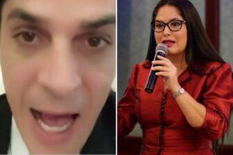 "Los comentarios homofóbicos de la senadora Zulay Rodríguez contra Marco Michetti: ""Le saca todas las plumas con agua caliente"" 1"