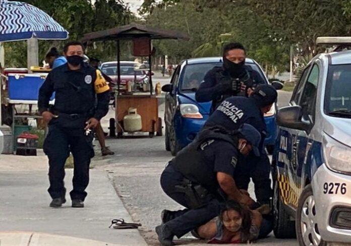 Madre de salvadoreña muerta a manos de policías mexicanos pide justicia 1