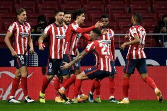 Atlético ganó con lo justo y Barcelona goleó con Messi en plan estelar 1