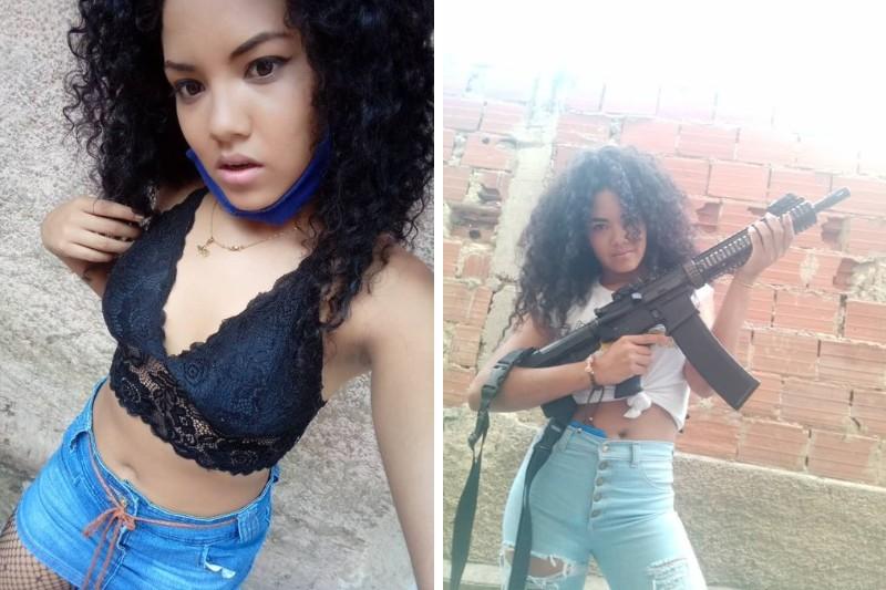 """Conozca a la Pelúa, la extravagante garitera de la banda """"El Coqui"""" en la Cota 905 9"""