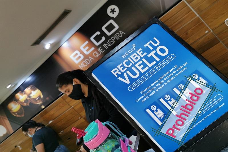 """""""Condicionan al consumidor"""": régimen prohibió a Beco entregar vales dolarizados como vuelto 1"""
