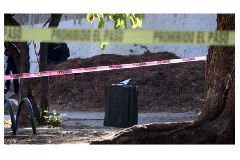 Encuentran cuerpo de una niña dentro de una maleta 1