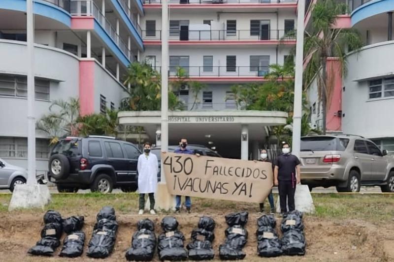 """Denuncian que en el Hospital Universitario de Caracas hay 16 cadáveres en la morgue: """"Dos explotaron debido al estado de descomposición"""" 4"""