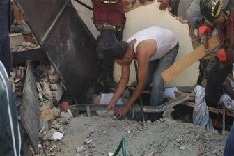 Explosión de bombona de gas deja dos muertos en Caracas 1