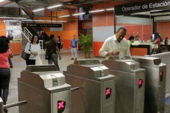 Aumentan las tarifas del Metro de Caracas 1