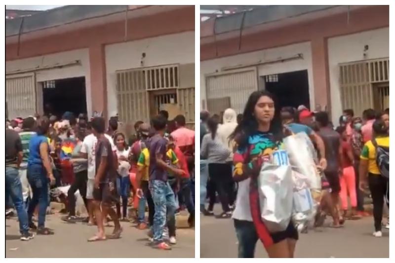 Saqueos y disturbios en Guasipati y El Callao porque comerciantes no quieren aceptar billete de Bs 50.000 (Videos) 2