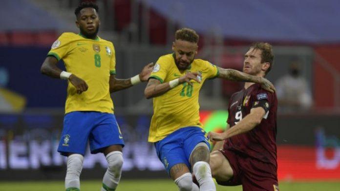 Venezuela cayó ante Brasil 3-0 en la Copa América 8