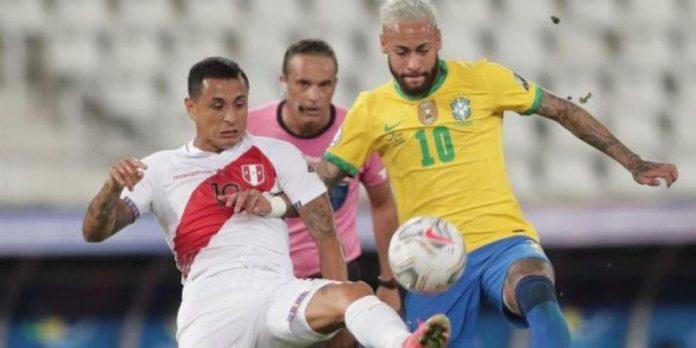 Brasil golea a Perú al ritmo de Neymar 4