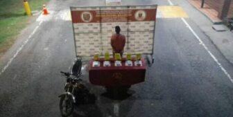 Colombiano intentaba transportar droga en cajas de maizina en el Zulia 1