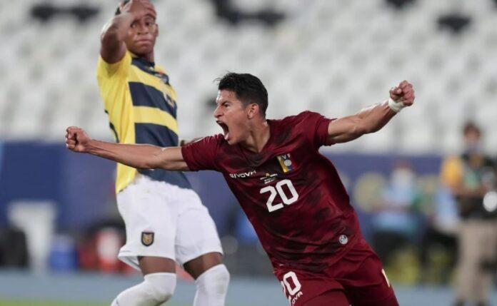 Venezuela sacó otro empate ante Ecuador en la Copa América 7
