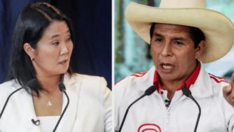 Con el 89.12% de las actas contabilizadas, Keiko Fujimori tiene ventaja con el 50.32%; Pedro Castillo 49.67% 1