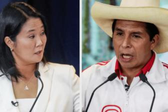 Con el 89.12% de las actas contabilizadas, Keiko Fujimori tiene ventaja con el 50.32%; Pedro Castillo 49.67%